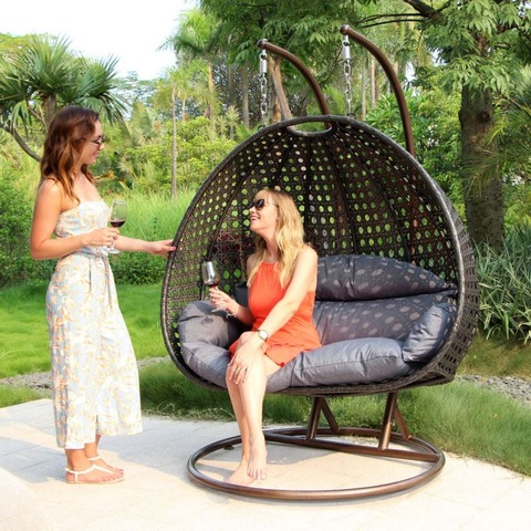 Mid Century Rattan Chair, Rattan Hanging Egg Swing Chair Cheap For Inside Sale With Metal Stand Wholesale Patio Swings Products On Tradees Com