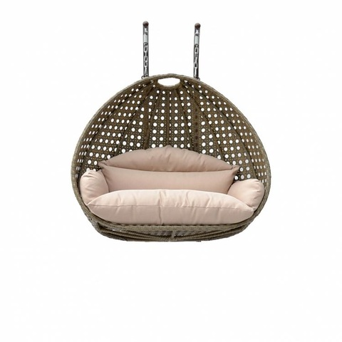 Royal Garden Patio Furniture 2 Seater Rattan Hanging Egg Swing Chair Cheap For Sale pictures & photos