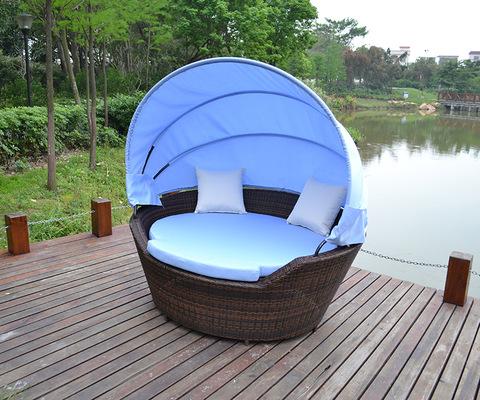 Simple Design Patio Rattan Outdoor Furniture Garden Sun Chaise Lounge pictures & photos