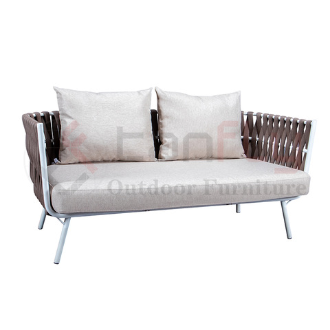 Simple style Outdoor Rope Woven sofa Garden furniture set with rope winding pictures & photos
