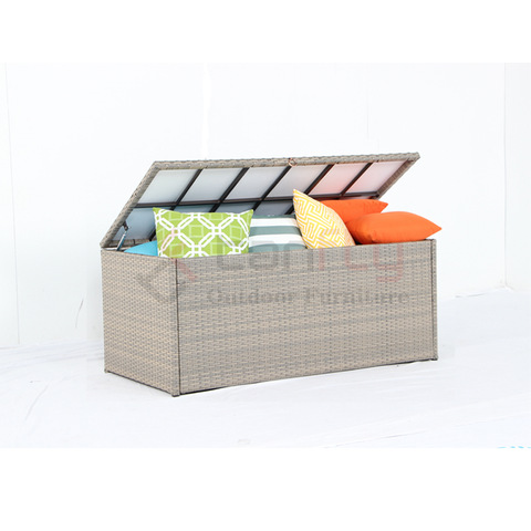 Wicker Cushion Box