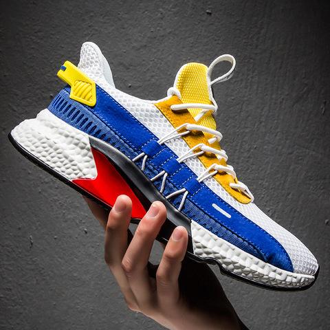 brand air cushion sport running shoes