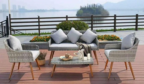 HOT SELL Leisure garden outdoor rattan furniture rattan sofa pictures & photos