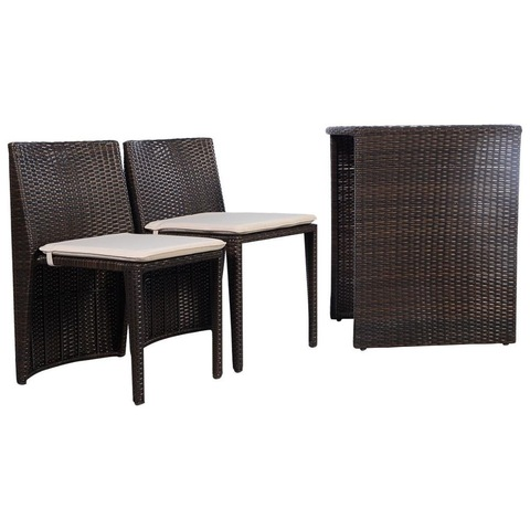 New Design Garden Rattan Furniture Patio Furniture Outdoor Rattan Set Bistro Set pictures & photos
