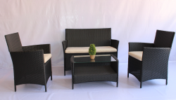 Modern Outdoor Rattan Furniture Rattan Sofa Patio Furniture Sets pictures & photos