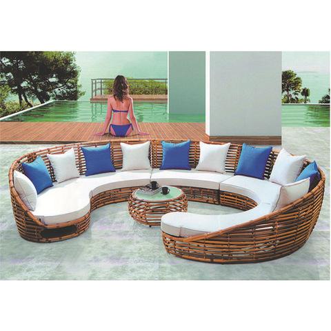 vietnam bali outdoor pvc rattan furniture