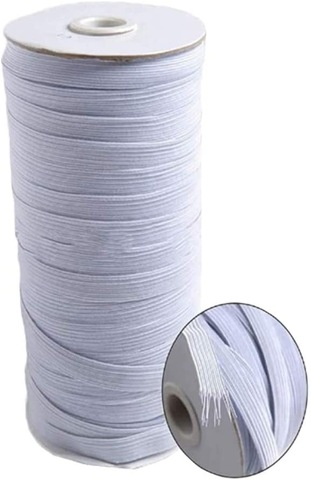 3mm 5mm Elastic Cord White Round Elastic Band For Face Mask Wholesale Garment Accessories Products On Tradees Com