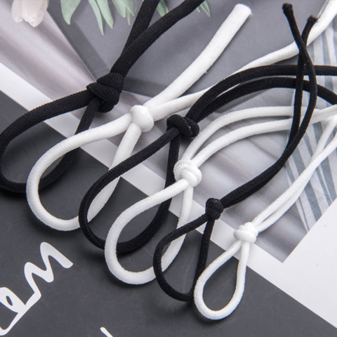 High Quality Soft Round Flat Elastic Band For Face Mask Wholesale