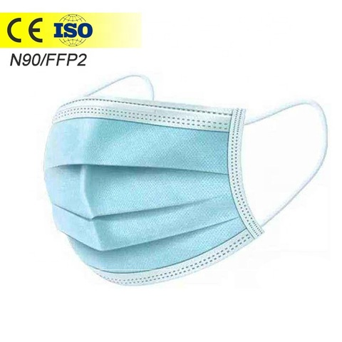3 ply face mask disposable anti virus mask