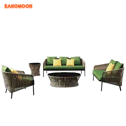 Outdoor Furniture Big Round Rattan Wicker Dining Table And Chair Set Wholesale Garden Sets Products On Tradees Com