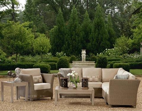 Poly patio wicker rattan outdoor corner seactional chaise lounge sofa set garden outdoor furniture pictures & photos