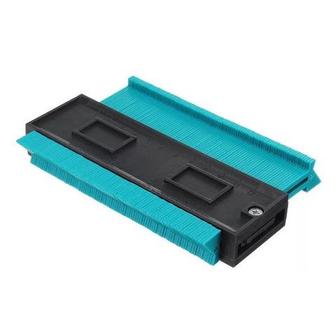 """2 Pieces Contour Gauge Duplicator,SENDIN Plastic Profile Gauge,5/"""" and 10/"""" Shape"""