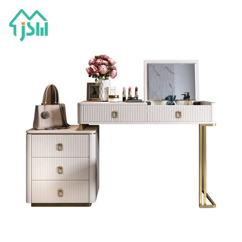 Luxury Rice White Modern Master Bedroom Furniture Vanity Dresser With Cosmetics Storage Wholesale Dressers Products On Tradees Com