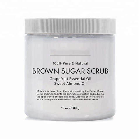 Oem Odm Pure Natural Exfoliator Body Brown Sugar Scrub Wholesale