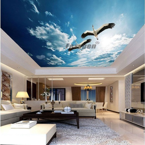 2020 New Arrival Zhejiang Famous Foxygen Brand Soft Pvc Film Indoor Surface Bar Roof Mural Design Pvc Stretch Ceiling Film Wholesale Decorative Films Products On Tradees Com