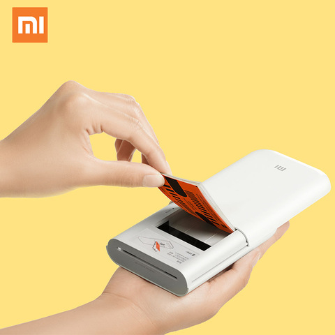 Xiaomi Mijia Air Printer 300DPI Portable Photo Mini Pocket Pocket Photo Printer
