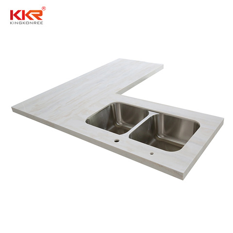 L Shaped Kitchen Vanity With Stainless Sink Vanity Top With Rectangular Sink Bathroom Vanity Tops With Sink Wholesale Kitchen Sinks Products On Tradees Com