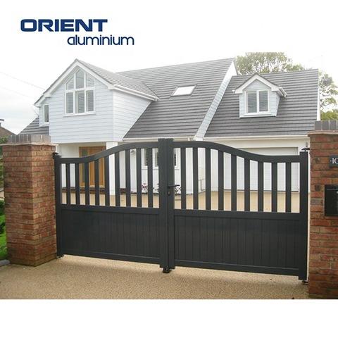 Aluminium Modern Main Gate Designs