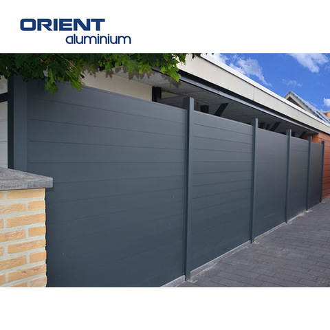 China Factory Custom Metal Privacy Fence Panels For Garden