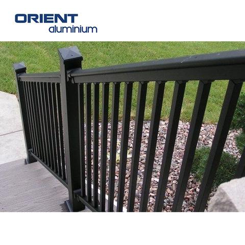 high quality aluminium balustrades deck handrails pictures & photos