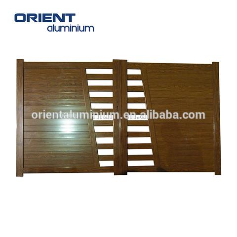 modern main gate design aluminium doors pictures & photos