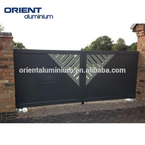 modern main gate design aluminium doors