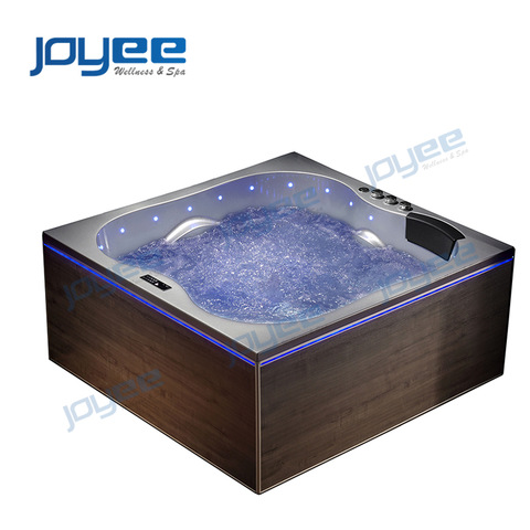 Joyee Serc Acrylic Indoor Double Whirlpool Bathtub Jacuzzi Bath Tub Massage Baignoire Spa Portable Hot Tub For Sale Cheap Wholesale Bathtubs Whirlpools Products On Tradees Com