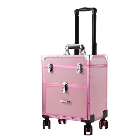 Aluminum Cosmetics Storage Organizer