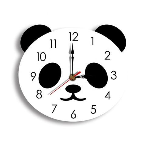 DIY Acrylic Panda Wall Clock Home Decoration Bedroom Living Room wall  clocks modern Kitchen Home Decor Cute wall+clocks, Wholesale Clocks  products on Tradees.com