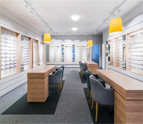 Fashion Modern Optical Shop Interior Design Plan Sunglasses Retail Shop Furniture Optical Sunglasses Store Display Decoration Wholesale Store Supermarket Supplies Products On Tradees Com