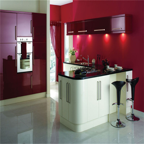 Modern Style High Glossy Red Lacquer Kitchen Cabinet For Hot Sale Wholesale Other Service Products On Tradees Com