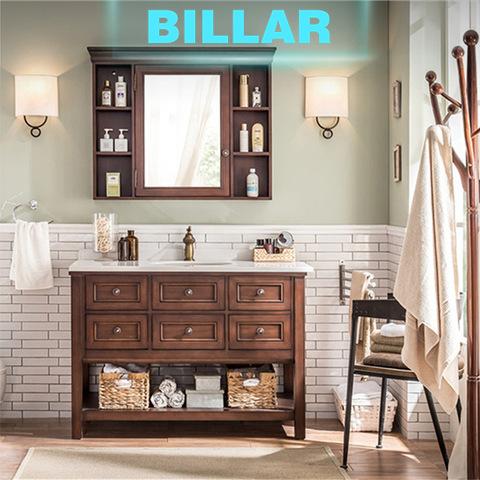 American Country Style Oak Retro Bathroom Vanity Plywood Cabinet Wholesale Bathroom Vanities Products On Tradees Com