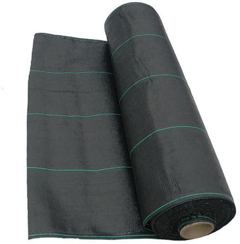 Landscape Fabric Ground Cover Membrane Uv Stabilised Black Heavy Duty Plastic Sake Weed Fabrics Sheet Woven Lawn Control Barrier Wholesale Agricultural Plastic Products Products On Tradees Com