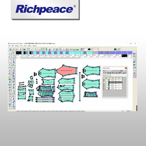 China Richpeace Apparel Cad Software Pattern Making For Clothes Industry Wholesale Software Products On Tradees Com