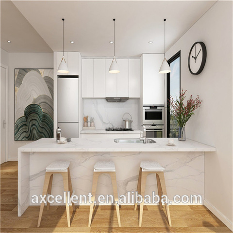 2020 Foshan 15 Years Supplier Affordable Modern Style America White Lacquer Kitchen Cabinet Wholesale Other Service Products On Tradees Com