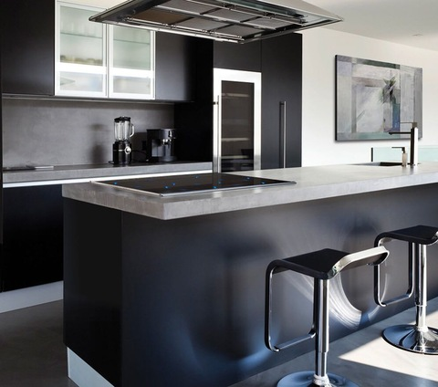 Excellent Kitchen High End Customized Black Lacquer Full High Kitchen Cabinet Wholesale Other Service Products On Tradees Com