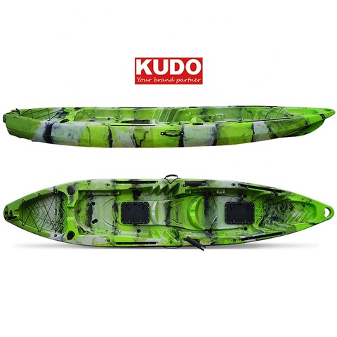 Kayak Not Inflatable Giant 390cm Tandem Fishing Kayak With High Seats Wholesale Canoe Kayak Products On Tradees Com