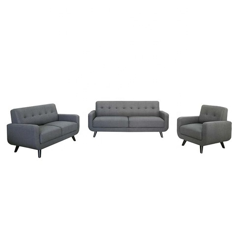 Modern living room furniture fabric sofa set pictures & photos