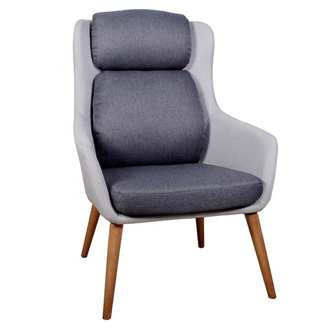 New design fabric modern single seater leisure sofa chair