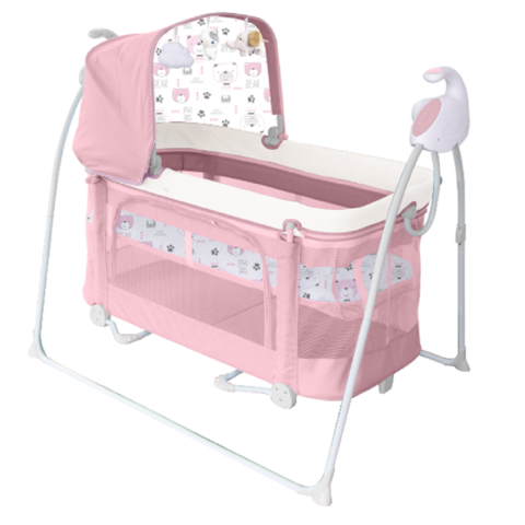 Sleeper Folding Baby Crib Oem Style Packing Modern Electric Swing Bed Playpen New Born 3 In 1 Big Space Best Helper For Mum Wholesale Baby Furniture Products On Tradees Com