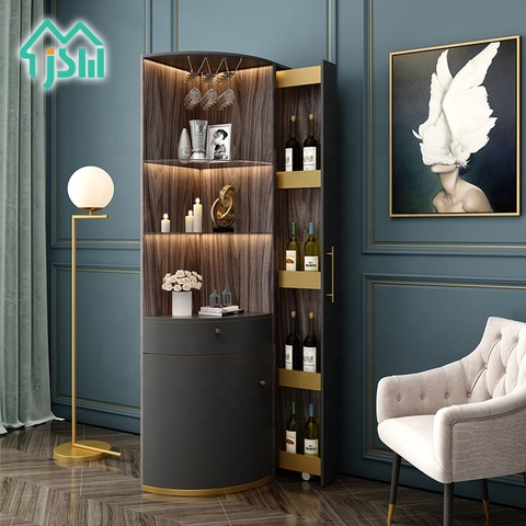 Luxury Living Room Home Furniture Led, Corner Bar Furniture