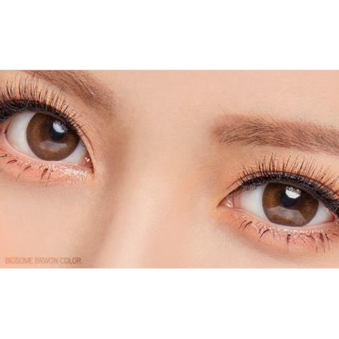 Wholesale Women Korean Bigsome Brown Contact Lens Colored Wholesale Contact Lenses Products On Tradees Com