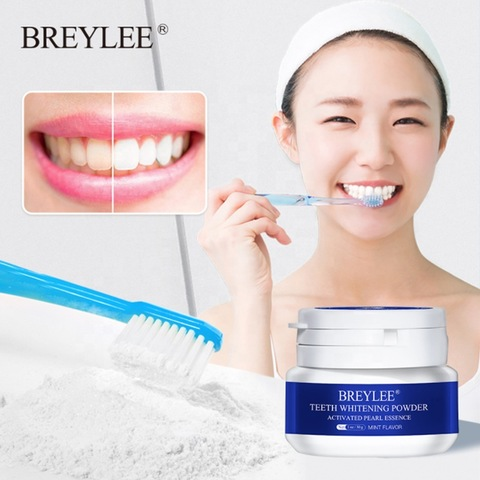 Breylee 30g Teeth Whitening Oral Care Charcoal Powder Natural