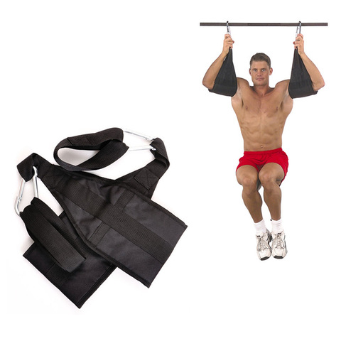 Thicken Ab Sling Straps Pull Up Belts Abdomen Muscle Training