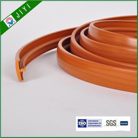 t shape extrusion PVC profile