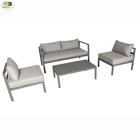 Sofa Back Wall Design, 4 Pieces Small Cheap Price Modern Aluminium Garden Sofa Outdoor Bistro Patio Used Set Wholesale Garden Sofas Products On Tradees Com