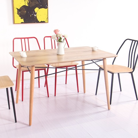 Nordic Simple Style Restaurant Dining Furniture comedores 6 sillas Modern Dining Set pictures & photos