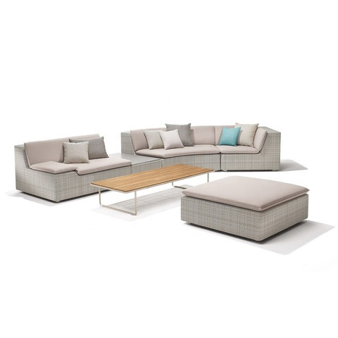 classic sectional chaise lounge beach patio outdoor sofa set waterproof hotel garden sofa pictures & photos