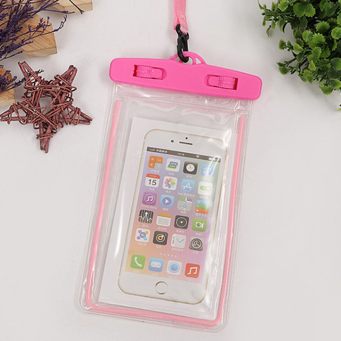 Wholesale top quality Pvc waterproof cell phone pouch