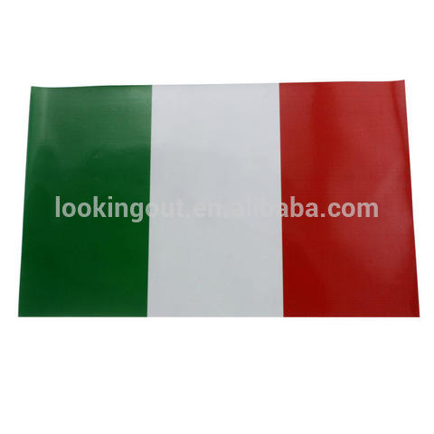 custom size colorful printing italy magnetic country flag ribbon pictures & photos
